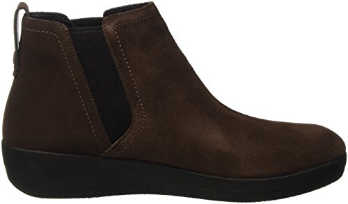 Chocolate Mujer Boot 30 Altas Fitflop Marrn Superchelsea Zapatillas para ZWf1nz