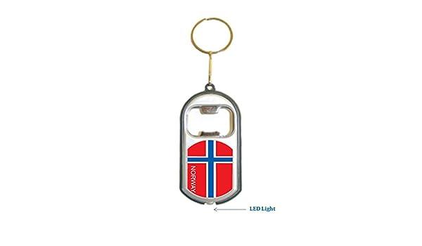 Amazon.com : Norway Flag 3 in 1 Bottle Opener LED Light ...