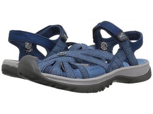 Keen(キーン) レディース 女性用 シューズ 靴 サンダル Rose Sandal - Blue Opal/Provincial Blue [並行輸入品]