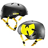 Bern 2015 Men' Macon EPS WuTang Summer Bike/Skate Helmet – w/Crank Fit (WuTang Matte Black – XXL/XXXL) Review