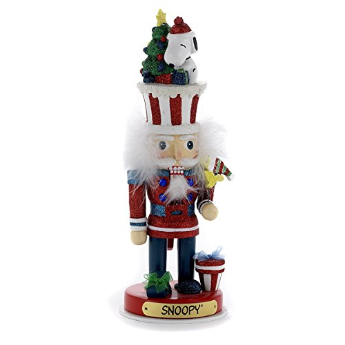 Peanuts/Hollywood Nutcrackers Kurt Adler Snoopy Hollywood Nutcracker, 12-Inch (12 Nutcracker)