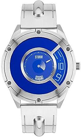 Storm Reloj los Hombres STEFFENTRON LAZER BLUE Special Edition 47319/LB: Amazon.es: Relojes