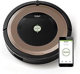iRobot Roomba 895 - Robot aspirador, rendimiento de limpieza avanzado con sensores de suciedad Dirt Detect, para todo tipo de suelos y adecuado para el pelo de mascotas, conexión  WiFi