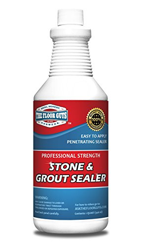 Grout & Granite Penetrating Sealer from the Floor Guys: Also Works on Marble, Travertine, Limestone, Slate. Protects Against Water & Oil Based Stains. Designed for Floors & Showers. 1 ()