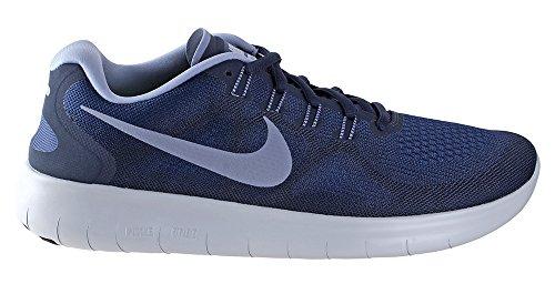 239dff236fd0d Galleon - Nike Free RN 2017 Binary Blue Dark Sky Blue Obsidian Men s  Running Shoes Size 10.5