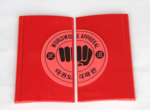 Tofreedomwind Martial Arts Taekwondo MMA Karate Training ABS+EVA 25cm22cm0.8cm Breaking Tile