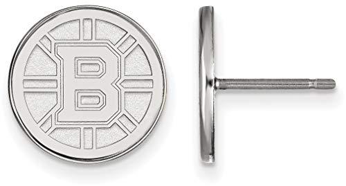 - Sterling Silver NHL Boston Bruins Small Post Earrings by LogoArt