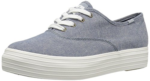 Keds Women's Triple Canvas Fashion Sneaker,Dark Blue,6 M US