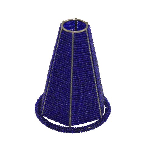 Small Blue Glass Pendant Lights - 5