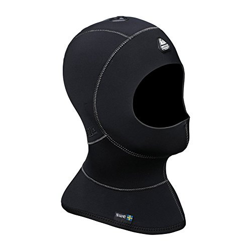Waterproof H1 3/5mm Vented Anatomical Hood, Medium/Large