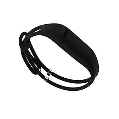 bayite Replacement Lightweight Thin Straps Wrist Bands for Fitbit Flex Black