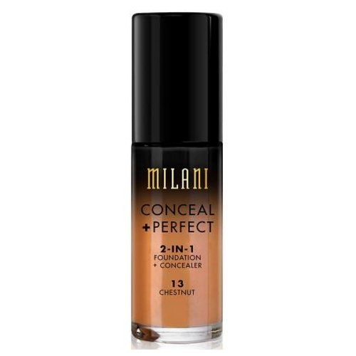 MILANI Conceal + Perfect 2-In-1 Foundation + Concealer - Chestnut