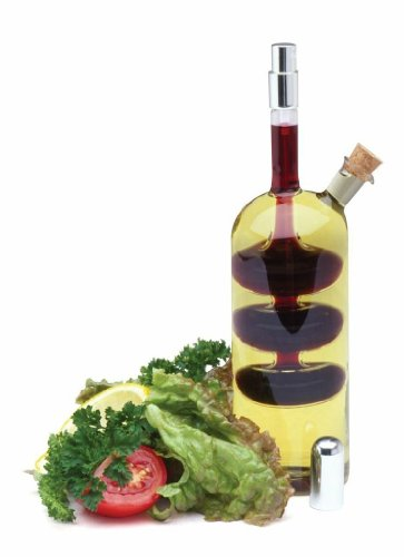 Norpro Oil Vinegar Cruet With Spritzer Hand-blown Glass Bottle And Sprayer 796 ()