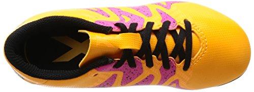 15 Pink Football Enfant 4 Mixte Compétition FxG Jaune adidas Black Core X Chaussures Shock de Gold Solar 5xTwqYzSY