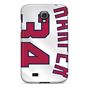 MansourMurray Samsung Galaxy S4 Scratch Protection Phone Cases Custom Lifelike Washington Nationals Pictures [MnU16322cuxH]