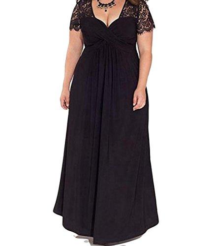 long black gauze dress - 9