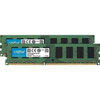Amazon Com Crucial 16gb Kit 8gbx2 Ddr3l 1600 Mt S Pc3l 12800