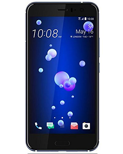 """HTC U11 Dual SIM (6GB, 128GB) Snapdragon 835, 5.5"""" Inch 4G LTE Smartphone (Amazing Silver)"""