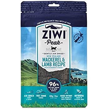 Ziwi Peak Air-Dried Mackerel & Lamb Recipe Cat Food (14 oz.)