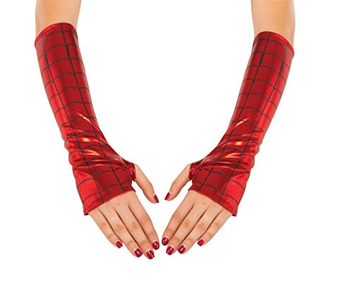 Marvel Rubie's Costume CO Women's Universe Spider-Girl Arm Warmers, Multi, One Size