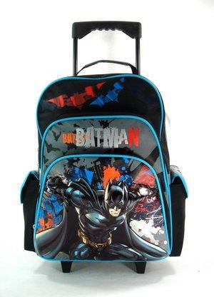 Grande rodando mochila - DC Comic Batman Caballero Oscuro Película nueva bolsa 612429: Amazon.es: Juguetes y juegos