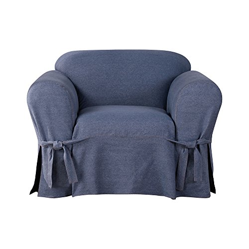 Sure Fit Authentic Denim One Piece Chair ()