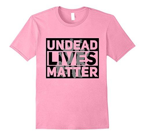 Mens Funny Halloween Costume Ideas 2017 Undead Shirt 2XL Pink (Men Halloween Costumes Ideas 2017)