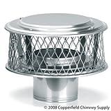 Homesaver 8 Inch HomeSaver 304 Guardian Cap 3/4 Inch Mesh
