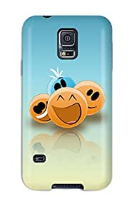Perfect Funny Three Smileys Case Cover Skin For Galaxy S5 Phone Case