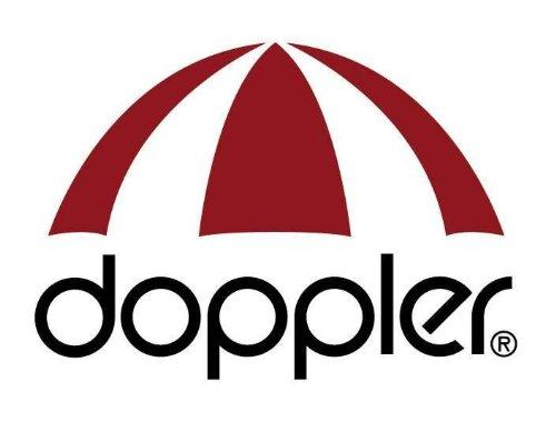 ca Doppler Luxus 3-Sitzer Bankauflage 4302K 5042304302K 155 x 54 x 6 cm rot anthrazit gestreift