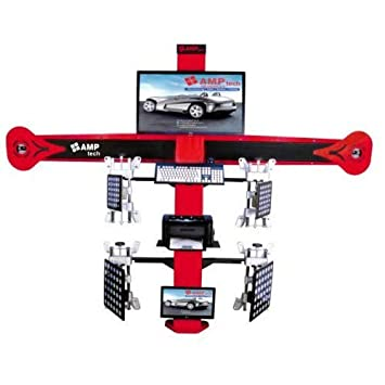 Wheel Alignment Machine >> Amp Tech S2h Ultimate 3d Wheel Alignment Machine Amazon In
