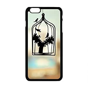 birdcage personalized high quality cell phone case for Iphone 6 Plus