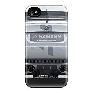 Hot Snap-on Hamann Bmw 3 Series Thunder Rear And Exhausts Hard Cover Case/ Protective Case For Iphone 4/4s