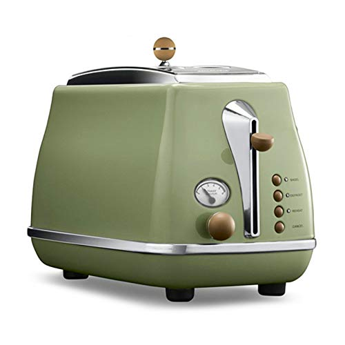 Toaster Italian Technology Breakfast Machine Household Automatic Single/double Sides Baking Stainless Steel Liner Retro