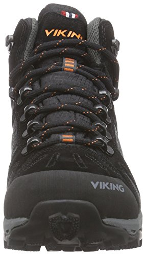 Unisex Adults Black Low 85120 3 Viking 277 Rise Charcoal Black Hiking 4Twqn