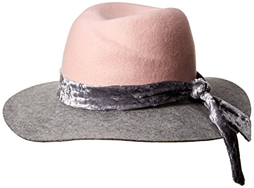 Orchid Row Women's Fashion Wranger Hat with Velvet Band