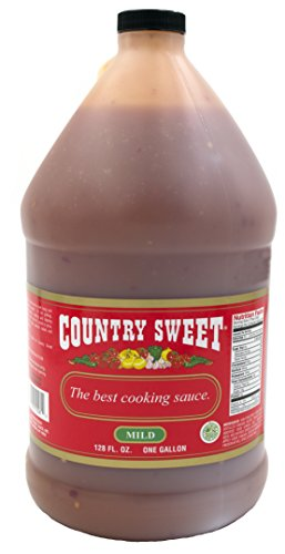 Mild Sauce - Country Sweet Sauce - Premium Cooking and Finishing Sauce (Mild, 1 Gallon/128 ounces)