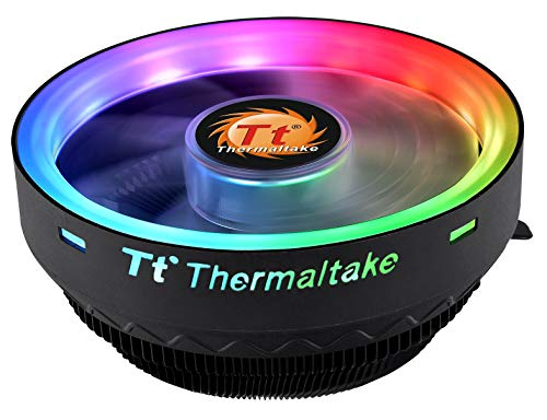 Thermaltake Engine 70W Intel 60mm Low Noise PWM Fan Forty Fan Blade AMD/Intel Universal CL-P064-AL12SW-A