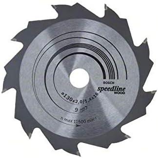 Bosch 2 608 640 774 - Hoja de sierra circular Speedline Wood - 130 x 16 x 2,2 mm, 9 (pack de 1): Amazon.es: Bricolaje y herramientas