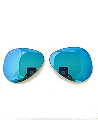 f456ef8f60 Blue Mirror Polar Replacement Lenses Ray-ban 3025 112 4L 55mm + ShadesDaddy  Glasses  Amazon.ca  Clothing   Accessories