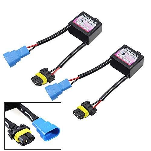 HID Kit Warning Canceller HID Capacitor Anti Flicker Hid Ballast Error Code Decoder (Pack of 2)