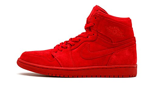 332550-603 MEN AIR 1 RETRO HIGH JORDAN GYM RED (8.5 D(M) US, GYM RED/GYM RED) (Jordan 1 Retro)