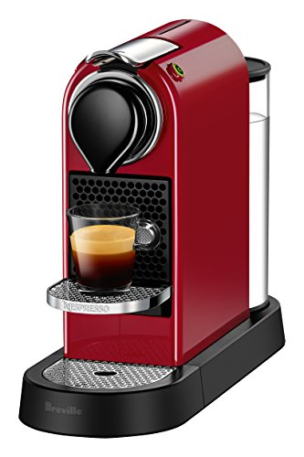 nespresso espresso machine red - 4