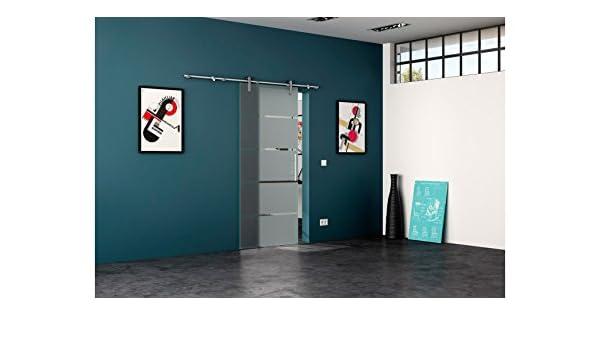 levidor Puerta Corredera de Cristal de acero inoxidable Rollo Sistema 4 tiras 77 cm: Amazon.es: Bricolaje y herramientas
