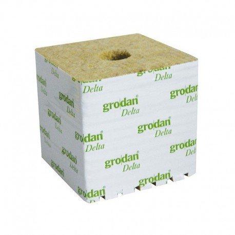 Grodan Set of 8Rock Wool cubes, 7.5cm x 7.5cm x 6.5cm