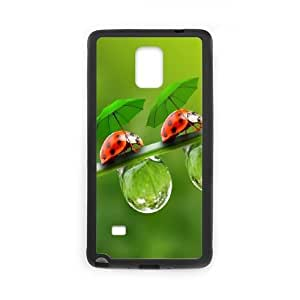 Samsung Galaxy Note 4 Black Phone Case Dragonfly Rational Cost-effective Surprise Gift Unique WIDR8611004204