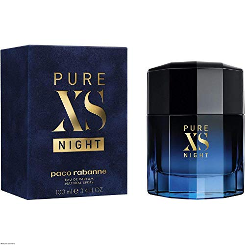 Paco Rabanne – Pure Xs Night – Eau De Parfum Spray 3.4 Oz