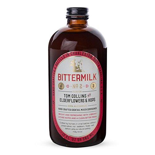 Bittermilk No.2 Tom Collins with Elderflowers & Hops Cocktail Mixer - 17 - Collins Outlet