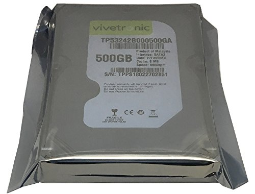 Generic 500GB 8MB Cache 5900RPM SATA 3Gb/s 3.5'' Internal Desktop Hard Drive (Certified Refurbished) by MaxDigitalData (Image #1)