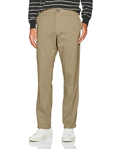 LEE Men's Performance Series Extreme Comfort Relaxed Pant, Khaki, 38W x - Lee For Pants Men